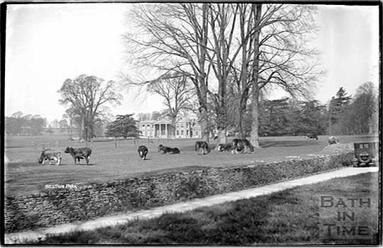Historical Photograph of Neston Park Estate