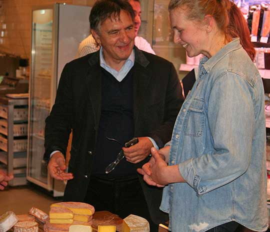 Julianna and Raymond Blanc