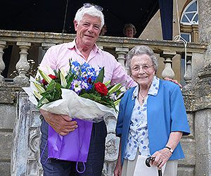 Betty Scarr honored by the RNLI
